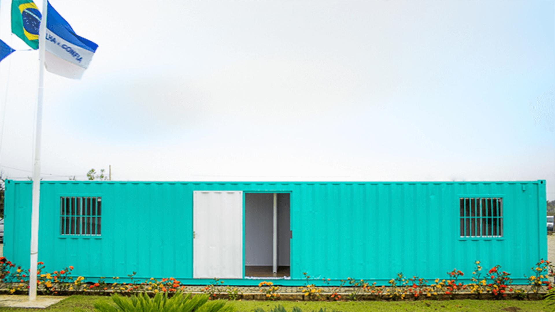 Casa Container 12 metros simples