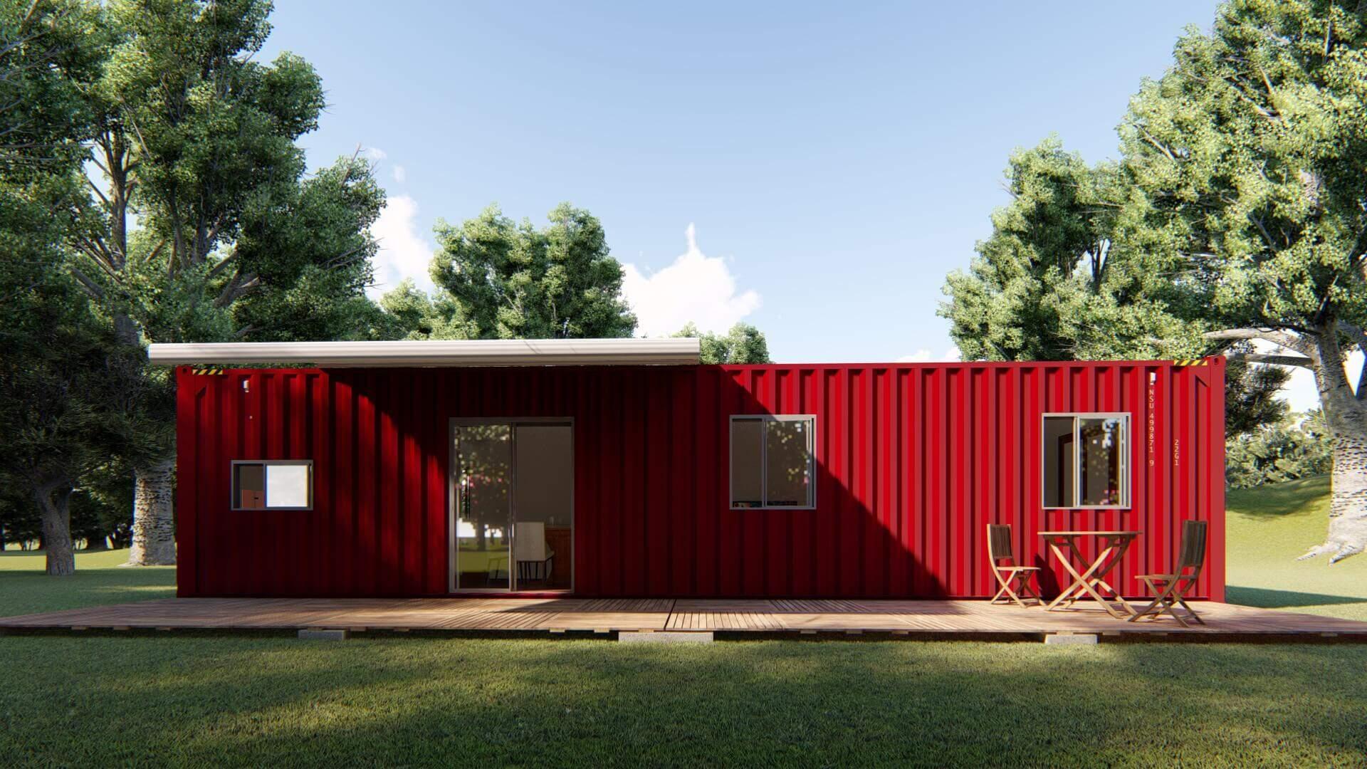 Casa Container 12 metros