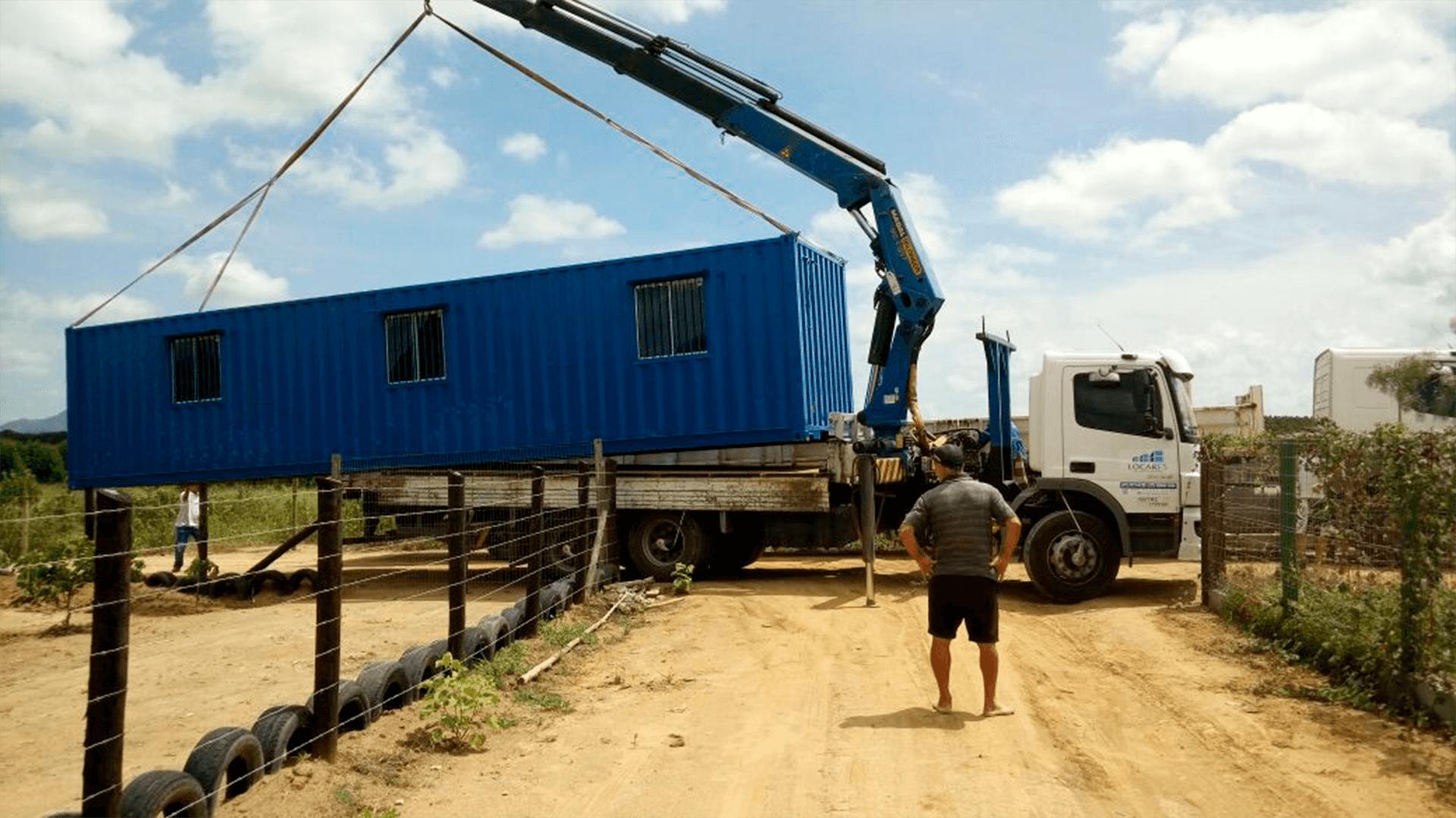 Casa Container 40 pés simples 3
