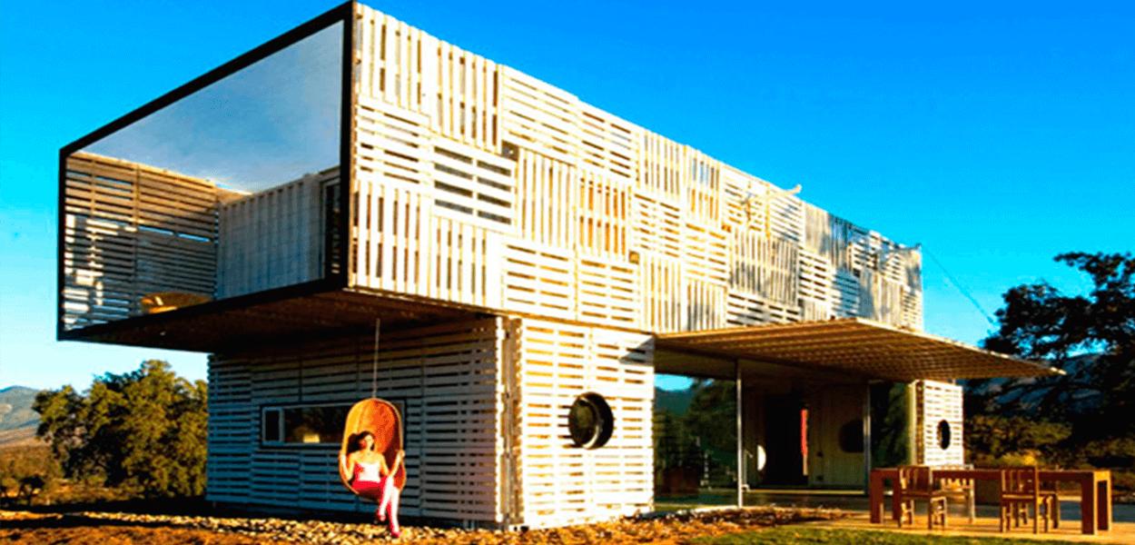 Casa Container de Pallets