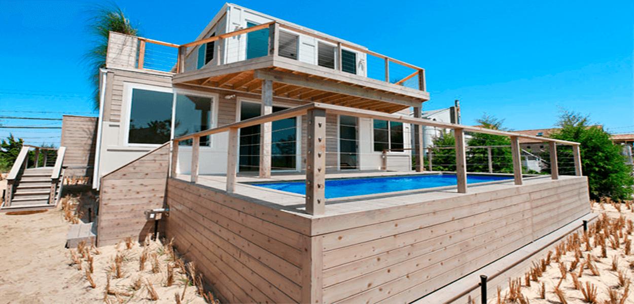 Casa Container de praia
